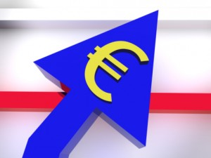 Euro buoyancy against dollar
